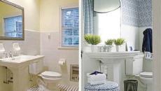 salle de bain refaite avant après