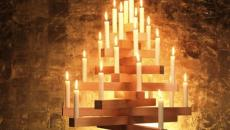 bougies sapin originale de fête