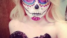 maquillage masque créatif Halloween