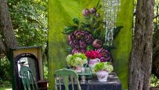 aménagement outdoor très art rustique