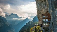 Aschef Cliff hôtel au cœur du roche alpin