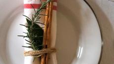 décoration simple table de noel sympa idées inspirations