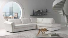 canapé mobilier design intérieur blanc