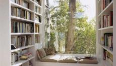belle pièce de détente maison coin de lecture