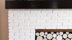 cache écran cheminée décorative