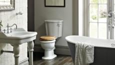 salle de bains baignoire retro d'antan decor original