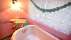 baignoire salle de bains caravane airstream