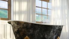 baignoire ancienne design chic retro