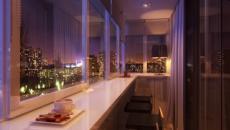 aménagement balcon d'appartement citadin
