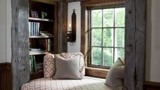 banquette sous fenêtre aménagement chambre