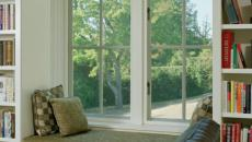 idées déco chambre aménagement banc sous fenêtre