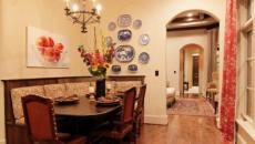 banquette design classique cuisine repas