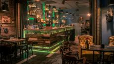 bar de nuit intérieur design original