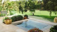 Le bassin de rafraichissement peut être aménagé dans une terrasse d'appartement de standing