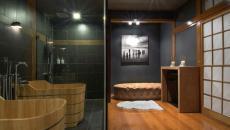 belle salle de bain classique japonaise