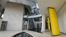 Architecture contemporaine créative siège Fondation Louis Vuitton