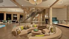 déco et design tendance séjour élégant coin enfoncé assises