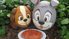 œufs décoration inspirée disney