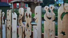 inspiration menuiserie clôture originale