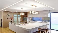 grande cuisine aménagement luxe