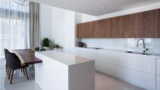 belle cuisine au design simple et épuré