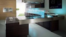 cuisine lumières led design futuriste