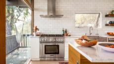 comptoir cuisine américaine rénovée