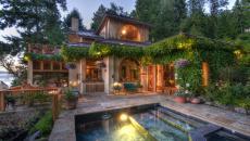 Petite terrasse ou terrain permet également de faire poser un bassin de rafraichissement de taille convenable