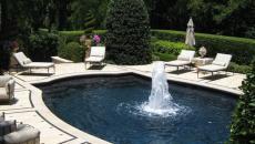 Piscine et terrasse de luxe outdoor
