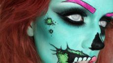 maquillage original créatif inspiration terrifiant