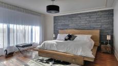 inspiration industriel et brut pour lit