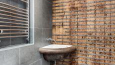 Influence industriel déco salle de bains
