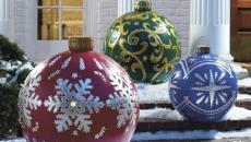 accessoire outdoor de déco Noël jardin
