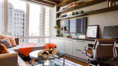 appartement citadin bureau avec vue