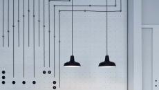 suspensions design industriel intérieur bistro