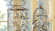 cages à oiseaux vides idées déco tendances