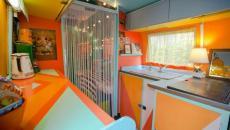 intérieur design déco caravane américaine Airstream