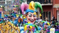 Célèbre carnaval Mardi Gras à Louisiane