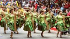 Le carnaval folklorique d'Oruro en Bolivie