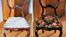 chaise restaurée à faire soi-même