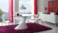 ambiance moderne chaises design maison