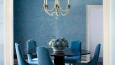 belles chaises en velours modernes salle à manger