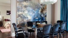 salle à manger élégante design moderne