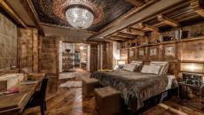 design déco luxe chambre suite en bois