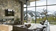 balançoire design rustique luxe