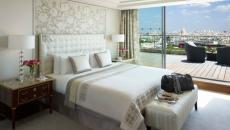 Chambre à coucher design inspiré par les hôtels
