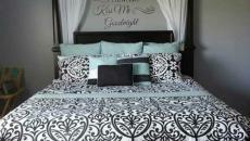 chambre à coucher au design sobre