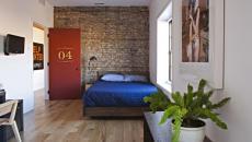 Chambre à coucher inspirée par le décor hôtelier