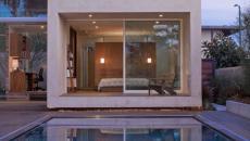 suite chambre principale maison moderne grande piscine outdoor