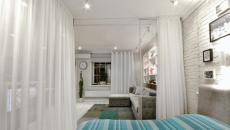 chambre aménagée petit appartement